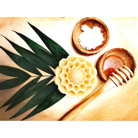 Savon Maya au miel & lait l'ânesse