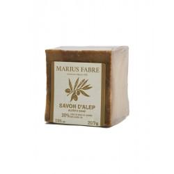 Savon d'Alep 30% d'huile de baies de laurier, 200g Marius Fabre