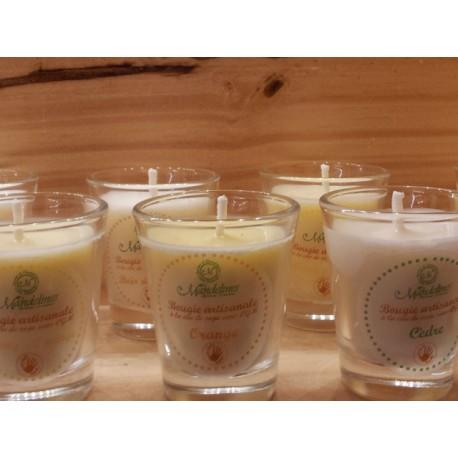 Bougie artisanale Fleur de coton 50 ml