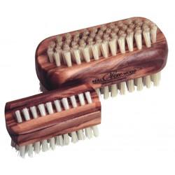 Brosse à ongles en bois d'olivier grand modèle
