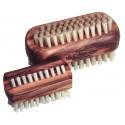 Brosse à ongles en bois d'olivier petit modèle