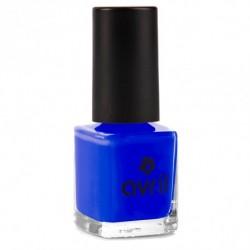vernis à ongles bleu electrique