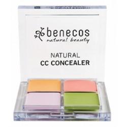 Correcteur de teint 4 couleurs Benecos