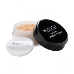 Poudre libre minérale naturelle sable clair Benecos 10g