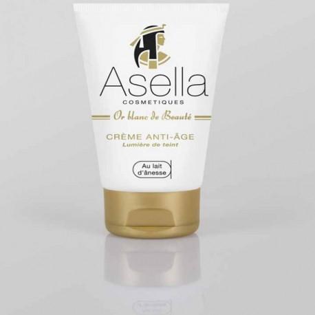 Crème Asella anti-age au lait d'ânesse